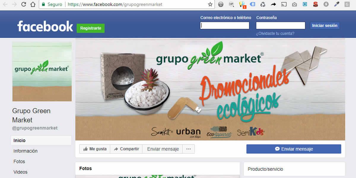 Grupo Green Market, Redes Sociales Listas!